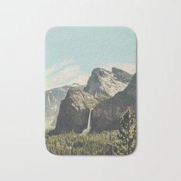 Yosemite Valley Waterfall Bath Mat