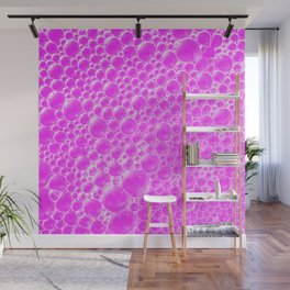Champagne Bubbles Collection: #4 – Cotton Candy Pink Wall Mural