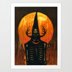 Autumn Acolyte Art Print