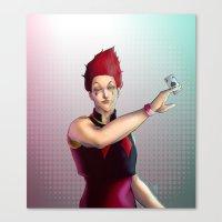 hunter x hunter Canvas Prints featuring Hisoka - Hunter x Hunter by DocLew