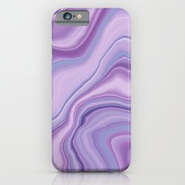 Liquid Unicorn Agate Dream #1 #pastel #decor #art #society6 iPhone Case