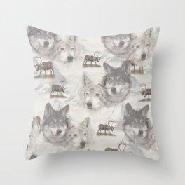 Canadian Wildlife  Throw Pillow