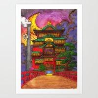 ABURAYA Art Print