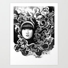 gritty Art Print
