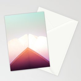 Dreamy Pastels of the Lotus Temple Stationery Cards