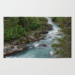 Alaska River Canyon - II Rug