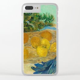 Van Gogh Still Life With Lemons and Oranges Clear iPhone Case