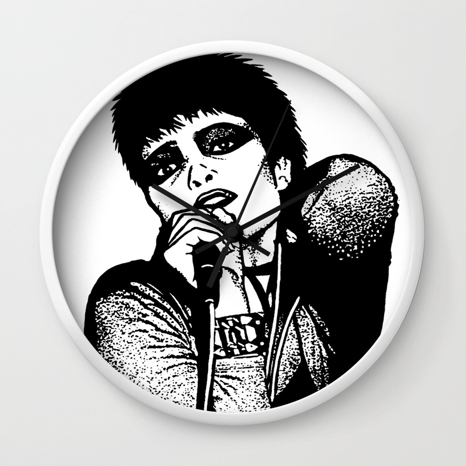 Siouxsie Sioux Of Siouxsie And The Banshees Wall Clock By