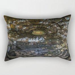 Forget your past Rectangular Pillow