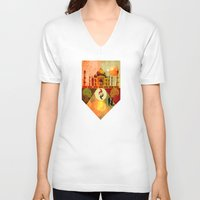fifth harmony V-neck T-shirts featuring Harmony by Design4u Studio