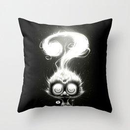 Question! Throw Pillow