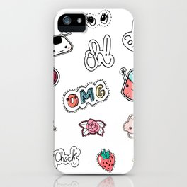 Stickers iPhone Case