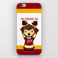 picard iPhone & iPod Skins featuring Mini Picard by Kana Aiysoublood