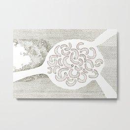 Evolutions - Burrowed Metal Print
