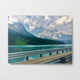 Bridge Overlook  Metal Print