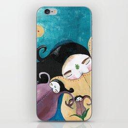 Sleeping Bhoomies iPhone Skin