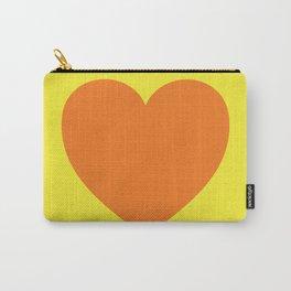 Pop Art Heart Carry-All Pouch