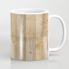 Wood Planks Light Coffee Mug