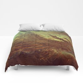 Sand Water Tree Comforters