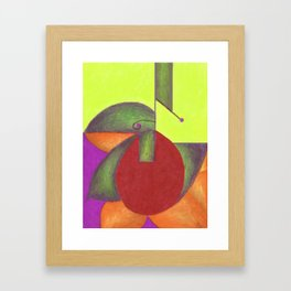 Into the Green 2 Framed Art Print