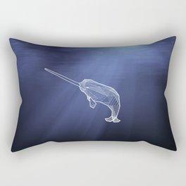 Keep Narwhals Real! Rectangular Pillow