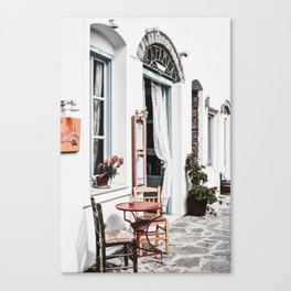 Amorgos Greece Canvas Print