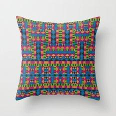 kiwi tribe Throw Pillow