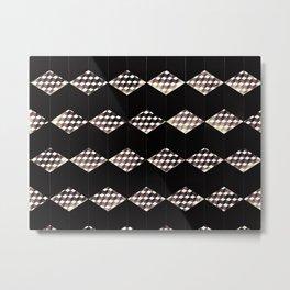 Cubed Colony Metal Print