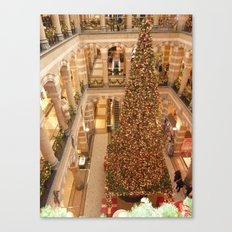 Christmas in Amsterdam Canvas Print