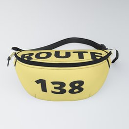 US Route 138 Fanny Pack