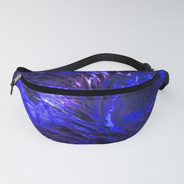 Blue Owly DPG170707a RB Fanny Pack