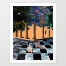 The Elemental Tourist - Water Art Print