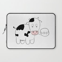SOLD! Scary Cow - Inspired by a True Incident! Laptop Sleeve