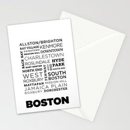 City of Neighborhoods - II Stationery Cards