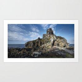 Kinbane Castle Art Print
