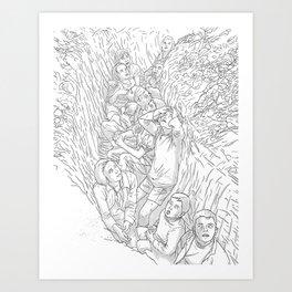 BombChild Art Print