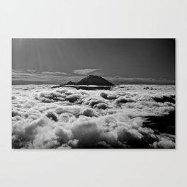 Mount Rainier above the Clouds Canvas Print