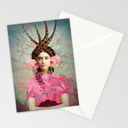 Portrait in Pastell Stationery Cards