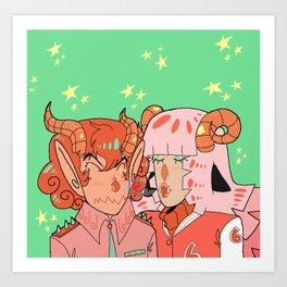 Demon Dames Art Print
