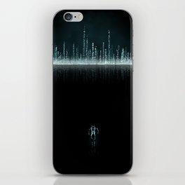 TRON CITY iPhone Skin