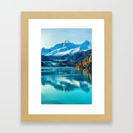 Alaska Glacier bay Framed Art Print