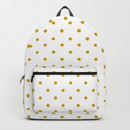 Golden Dots Backpack