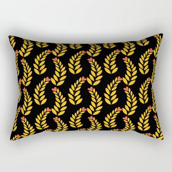 leaf pattern 1 Rectangular Pillow