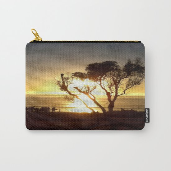 Fire and Water - a California sunset Carry-All Pouch