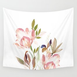 Darling Blooms Wall Tapestry