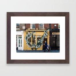 The pastry shop Framed Art Print