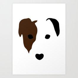 Russell Terrier Art Print