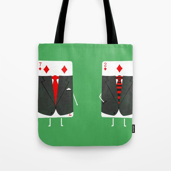 Suited Cards Tote Bag