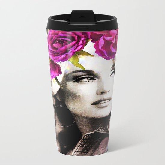 Holy Dolly (dolly parton) Metal Travel Mug