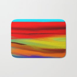 Abstract No 55 By Chad Paschke Bath Mat